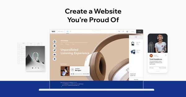 kelebihan website builder wix